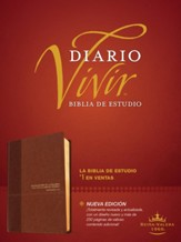 Biblia de estudio del diario vivir RVR60, DuoTono, Soft Imitation Leather, Tan, With thumb index