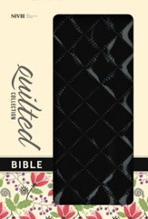 NIV Quilted Collection Bible, Italian Duo-Tone, Blackberry