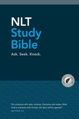 NLT Study Bible, With thumb index