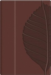 RVR 1960 Vidas Transformadas Bible de Estudio, Cafe con Indice (Transformation Study Bible, Brown with Index)
