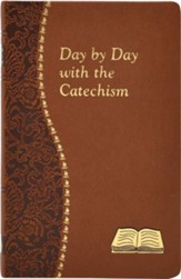 Day By Day With The Catechism, Tan Vinyl