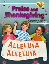 Coloring Book about Praise and Thanksgiving