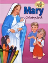Mary Coloring Book, Pack of 10