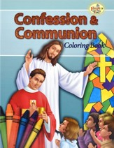 Confession & Communion Coloring Book, Pack of 10