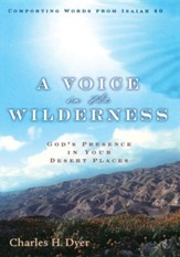 A Voice in the Wilderness: God's Presence in Your Desert Places - Slightly Imperfect