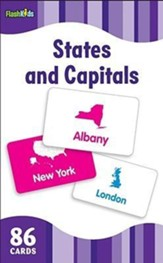 States and Capitals, Flash Cards