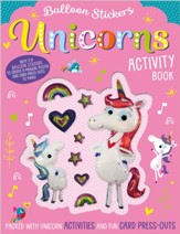 Balloon Stickers Unicorns