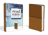 NIV ReadEasy Bible--imitation leather, tan