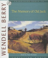 The Memory of Old Jack - audiobook on CD