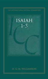 Isaiah 1-5 International Critical Commentary
