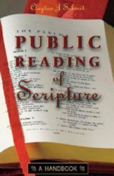 The Public Reading of Scripture: A Handbook