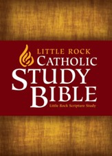 Little Rock Catholic Study Bible softcover