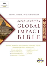 Global Impact Bible, NABRE Catholic Edition, Hardcover