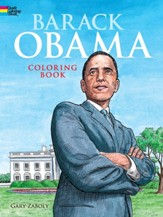 Barack Obama Coloring Book Green Edition