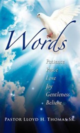 Words, Lloyd H. Thomas Sr, Hardcover