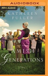 Amish Generations: Four Stories - unabridged audiobook on MP3-CD