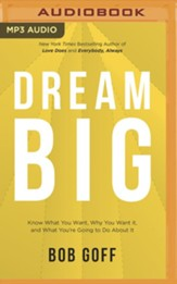 Dream Big - unabridged audiobook on MP3-CD