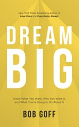 Dream Big - unabridged audiobook on CD