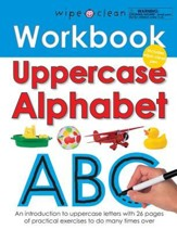 Uppercase Alphabet [With Wipe Clean  Pen]