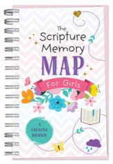Scripture Memory Map for Girls: A Creative Journal