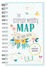 Scripture Memory Map for Teen Girls: A Creative Journal
