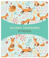 Fun Bible Crosswords: 99 Puzzles!