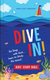 NLV Dive In! Kids' Study Bible, cloth over board