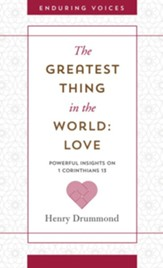 The Greatest Thing in the World: Love