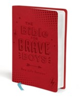 The Bible for Brave Boys: New Life Version, Leather, imitation