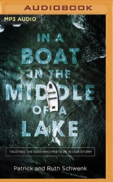 In a Boat in the Middle of a Lake: Trusting the God Who Meets Us in Our Storm, Unabridged Audiobook on MP3-CD