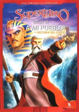 Superlibro: Deja ir a mi Pueblo! El  Exodo (Superbook:  Let my People Go! The Exodus), DVD