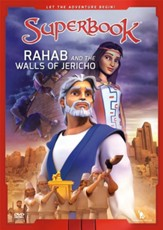 Superbook: Rahab and the Walls of Jericho, DVD
