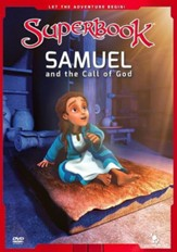 Superbook: Samuel And The Call Of God, DVD