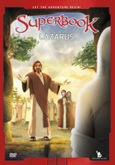 Superbook: Lazarus, DVD