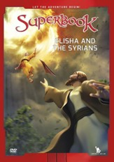 Superbook: Elisha and the Syrians, DVD