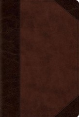 ESV Devotional Psalter (TruTone, Brown/Walnut, Portfolio Design), soft imitation leather