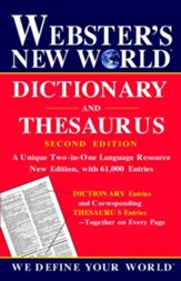 Webster's New World Dictionary and Thesaurus Second Edition 2002c
