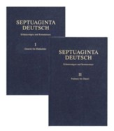 Septuaginta Deutsch Erlauterungen und Kommentare, 2 volumes - Slightly Imperfect