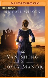 The Vanishing at Loxby Manor - unabridged audiobook on  MP3-CD
