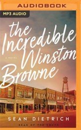 The Incredible Winston Browne - unabridged audiobook on  MP3-CD