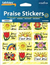 Jesus Loves Me Praise Stickers & Chart