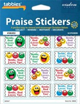 Smile God Loves You Praise Stickers & Chart
