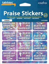 Bless Me Indeed! Praise Stickers & Chart