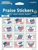 Patriotic Praise Stickers & Chart