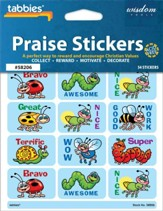 Good Work Praise Stickers & Chart