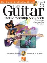 Play Guitar Today! Worship Songbook (Book/CD)