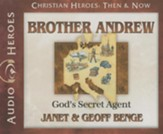 Christian Heroes Then & Now: Brother Andrew Audiobook on CD