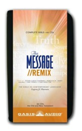 The Message Remix: The Bible in Contemporary Language - Audio Bible on CD