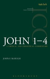 John 1-4: International Critical Commentary [ICC]
