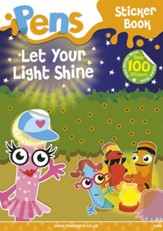 Pens Sticker Book: Let Your Light Shine